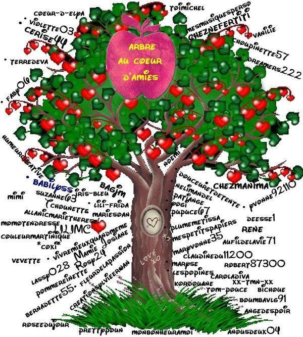 * L'arbre Au Coeur D'amies